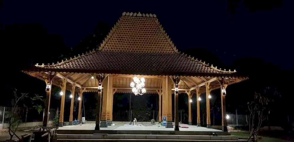 Jasa Bangun Rumah Limasan Jati Khas Jawa Tanjung Selor, Kalimantan Utara Termurah